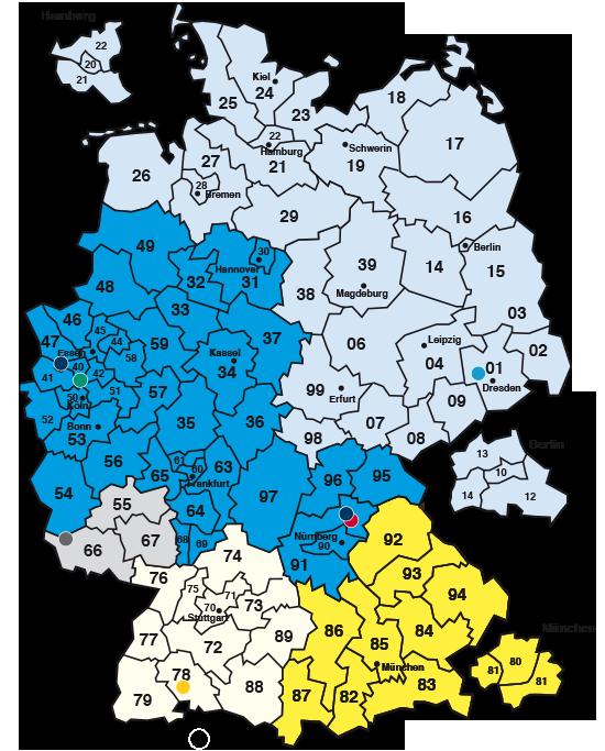 Gebiet 68 plz User